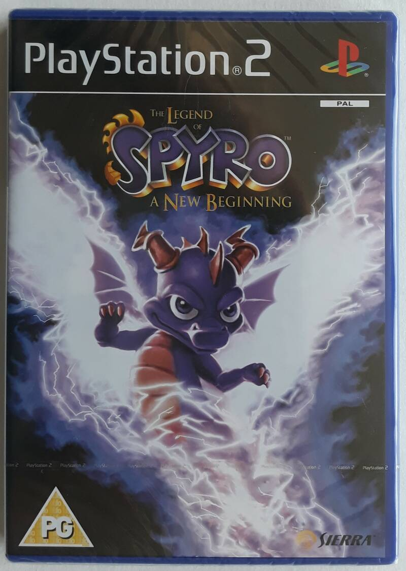 PS2 - Legend of Spyro, The: A New Beginning (PAL) factory sealed