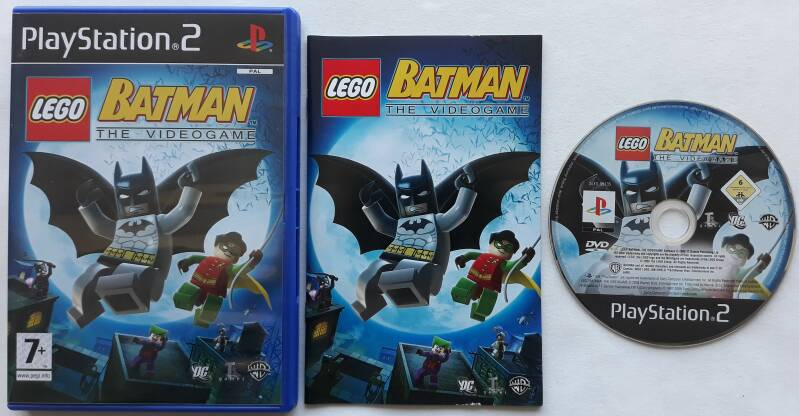 PS2 - Lego Batman: The Videogame (PAL)