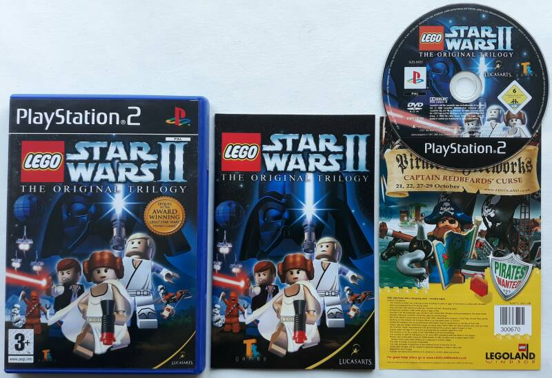 PS2 - Lego Star Wars II: The Original Trilogy (PAL)