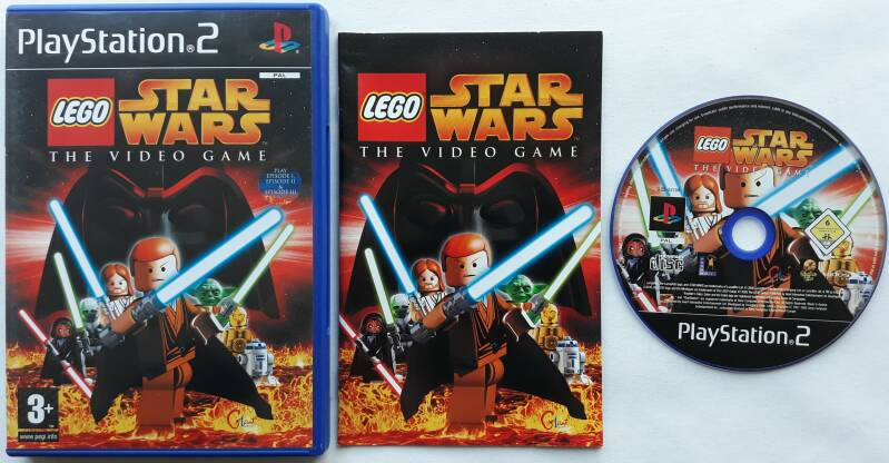 PS2 - Lego Star Wars: The Video Game (PAL)