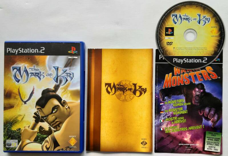 PS2 - Mark of Kri, The (PAL)