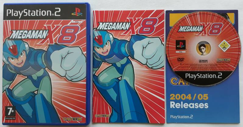PS2 - Mega Man X8 (PAL)