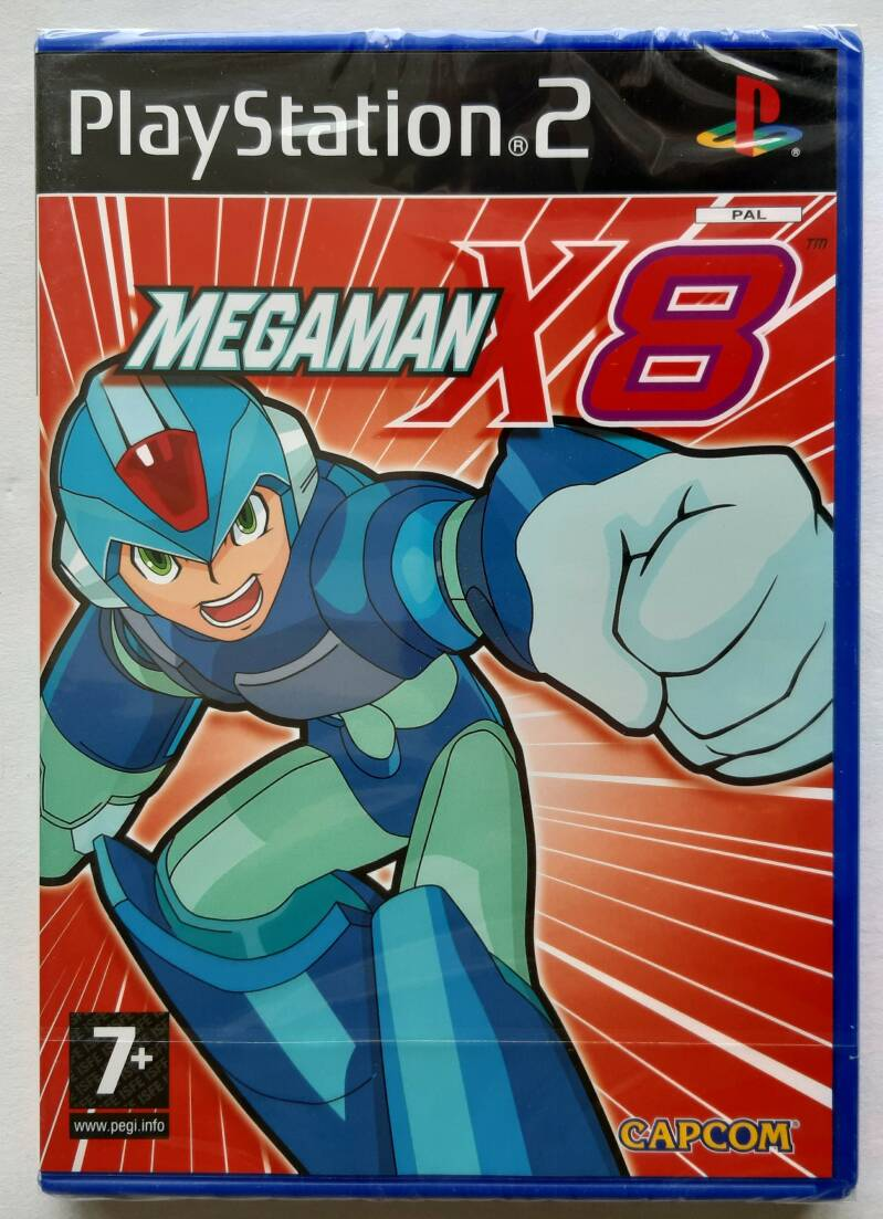 PS2 - Mega Man X8 (PAL) sealed