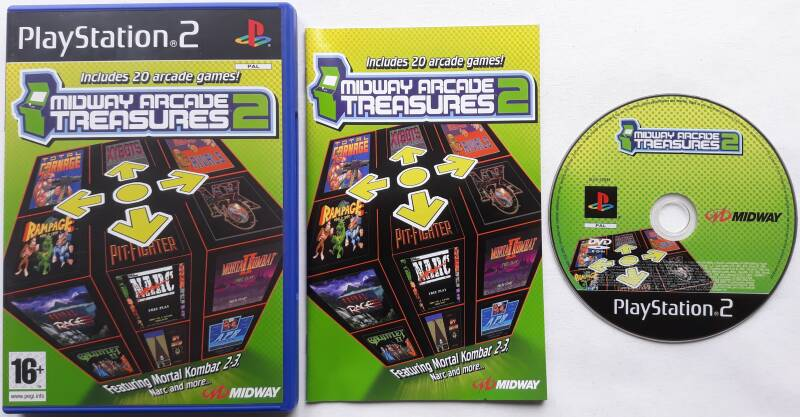 PS2 - Midway Arcade Treasures 2 (PAL)