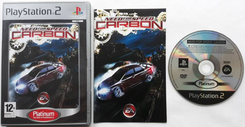 PS2 - Need for Speed Carbon (PAL) Platinum