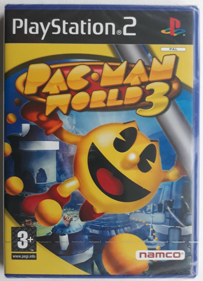 PS2 - Pac-Man World 3 (PAL) factory sealed