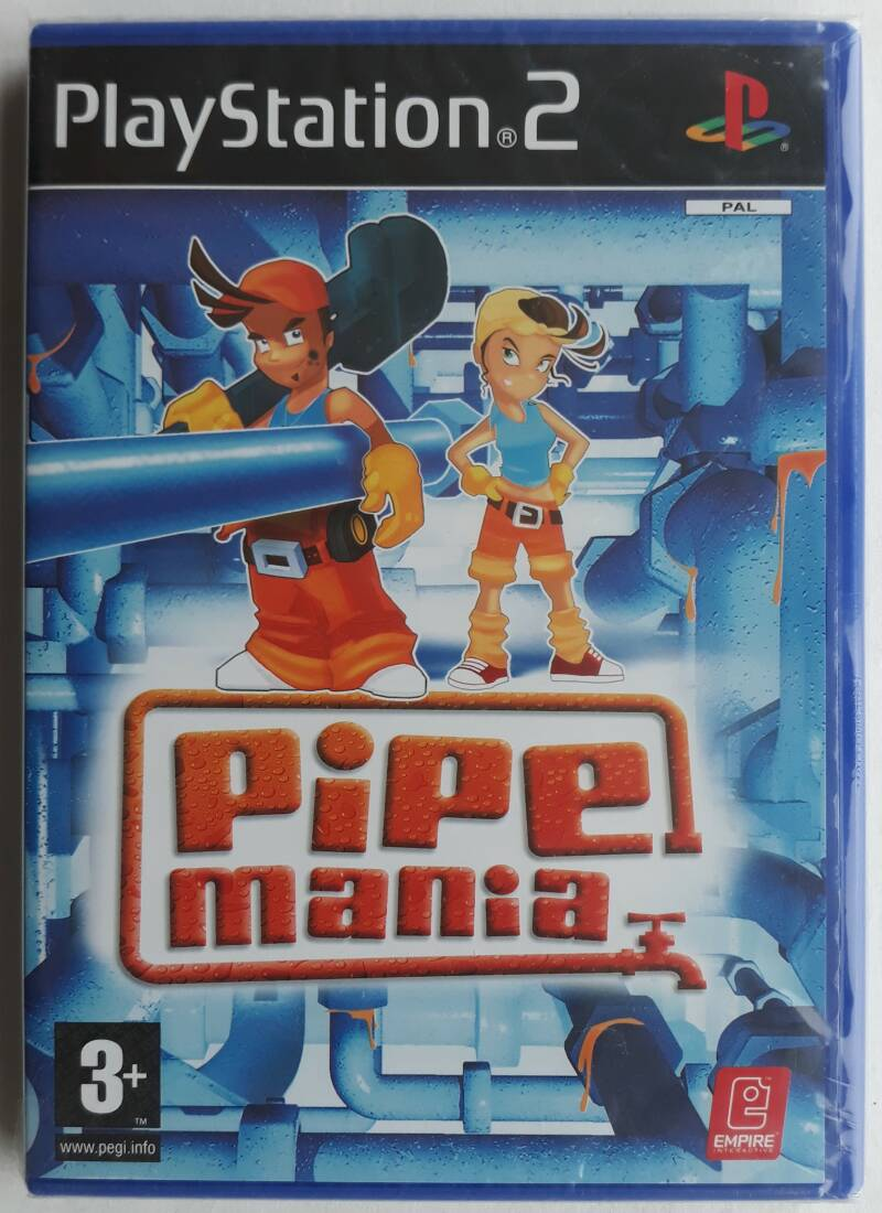PS2 - Pipe Mania (PAL) sealed