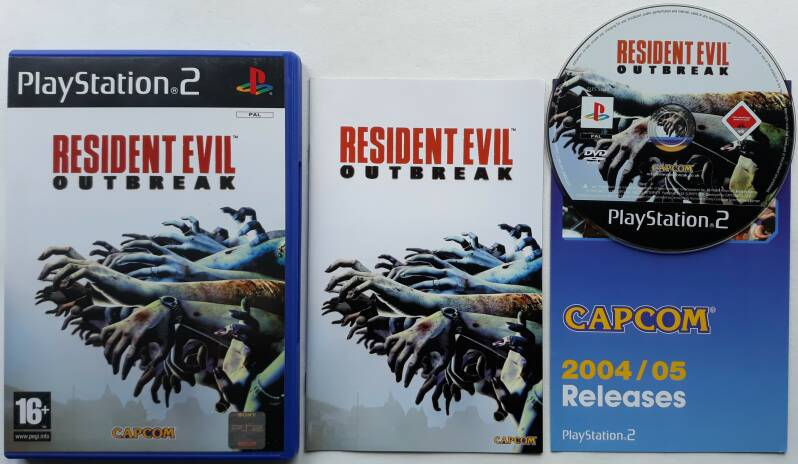 PS2 - Resident Evil Outbreak (PAL)