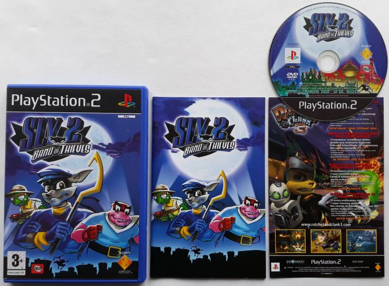 PS2 - Sly 2: Band of Thieves (PAL)
