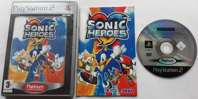 PS2 - Sonic Heroes (PAL) Platinum