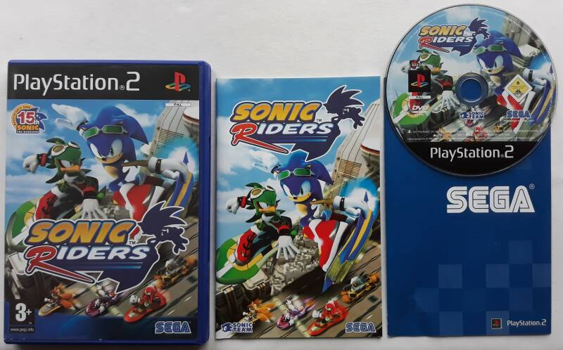 PS2 - Sonic Riders (PAL)