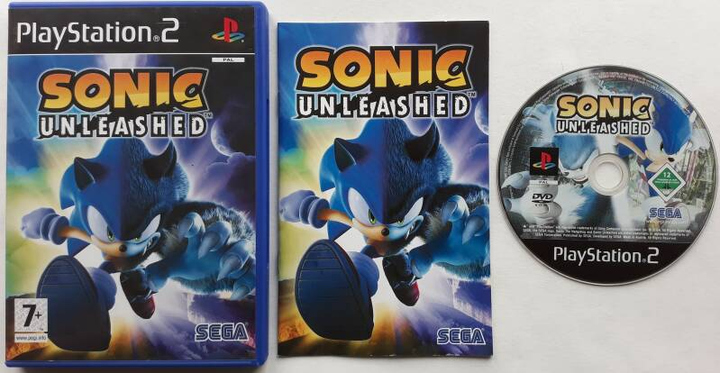 PS2 - Sonic Unleashed (PAL)