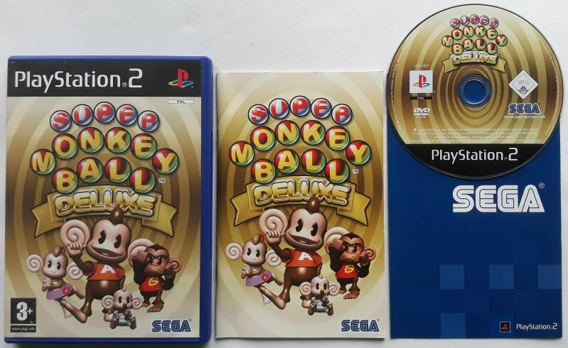 PS2 - Super Monkey Ball Deluxe (PAL)