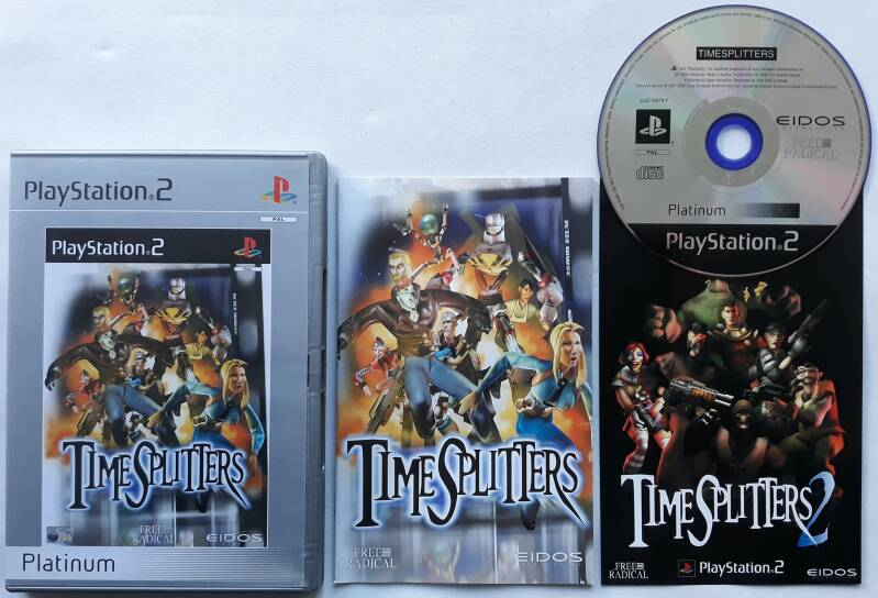 PS2 - TimeSplitters (PAL) Platinum
