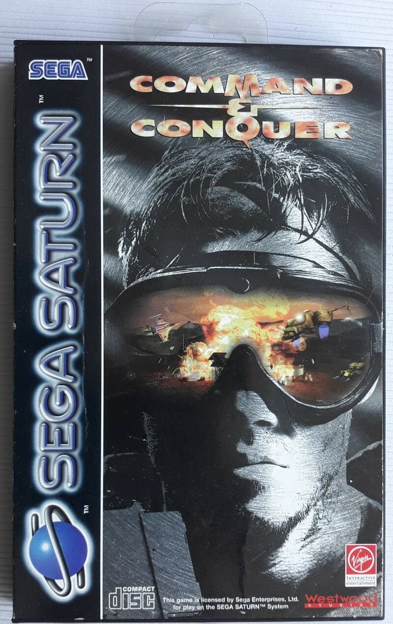 Saturn - Command & Conquer (PAL)