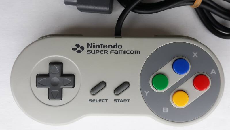 Super Famicom - Controller SHVC-005 (region free) excellent