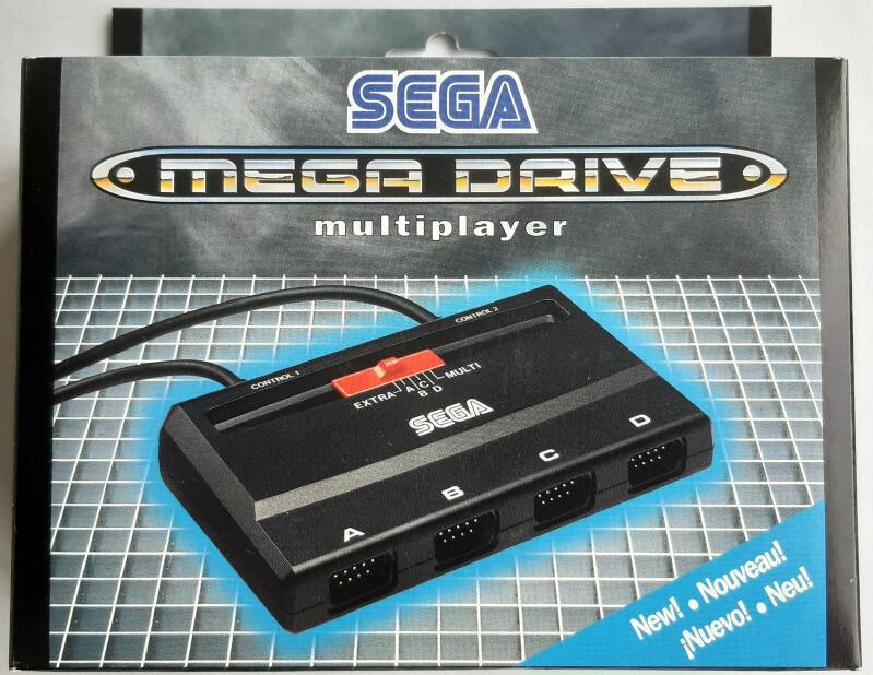 Mega Drive - Multiplayer 4 Player Adapter MK-1647-44 (region free) new old stock