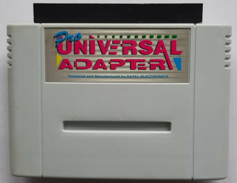 Super Nintendo - Converter Pro Universal Adapter (PAL) cart