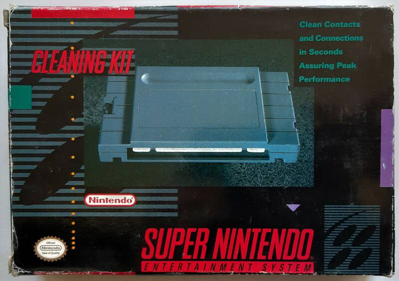 Super Nintendo - Cleaning Kit (NTSC)