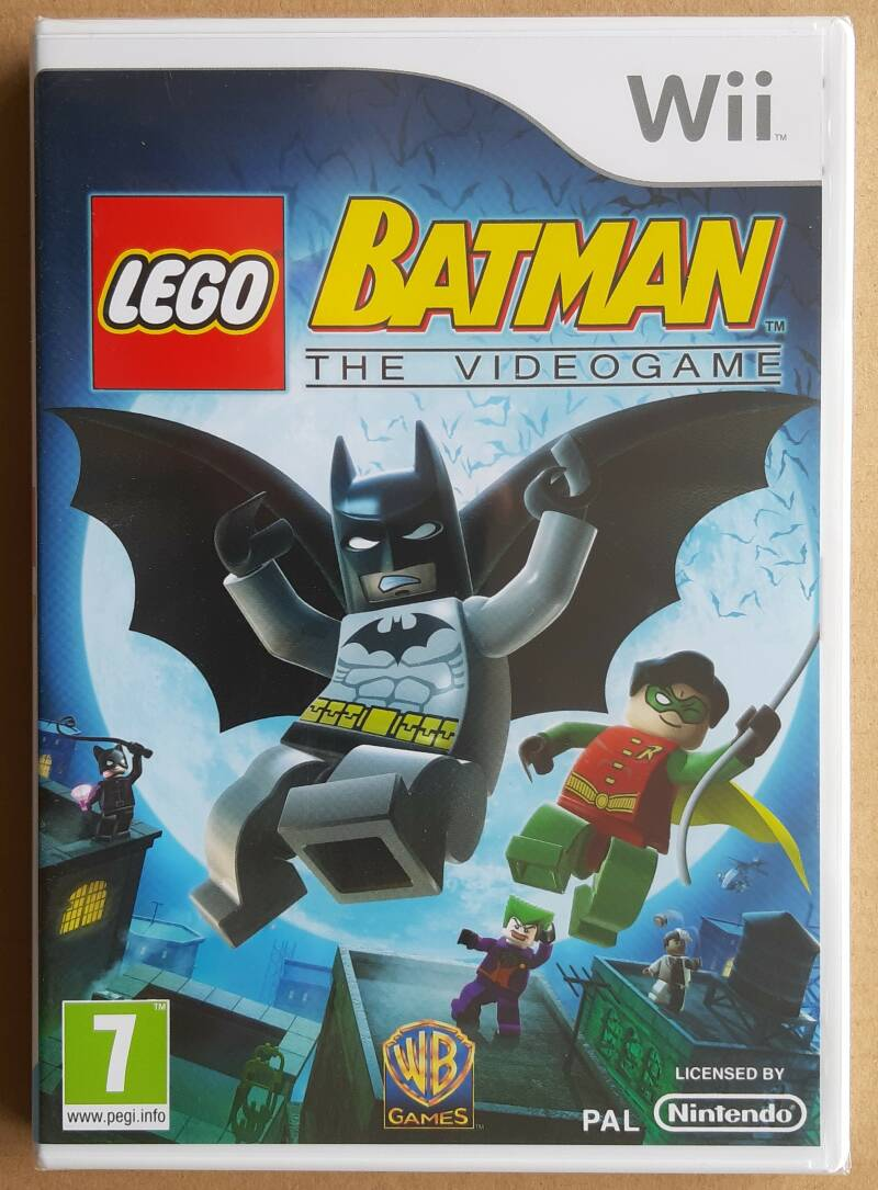 Wii - Lego Batman: The Videogame (PAL) factory sealed