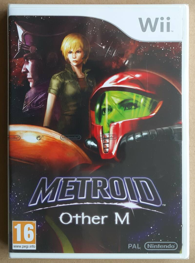 Wii - Metroid: Other M (PAL) factory sealed