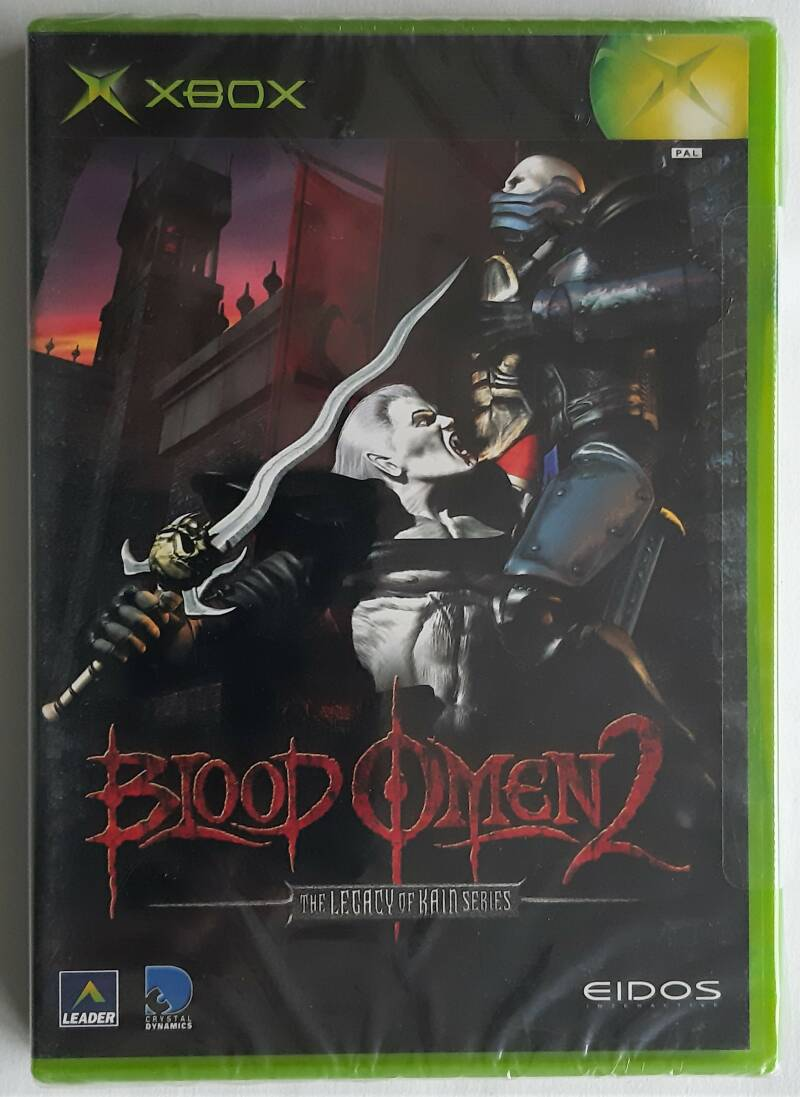 Xbox - Blood Omen 2: The Legacy of Kain Series (PAL) factory sealed