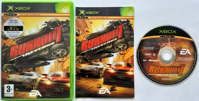 Xbox - Burnout Revenge (PAL)