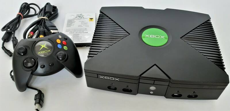 Xbox - Console modded w/ preinstalled emulators and 15000+ games on 160 GB HDD (PAL, region free)