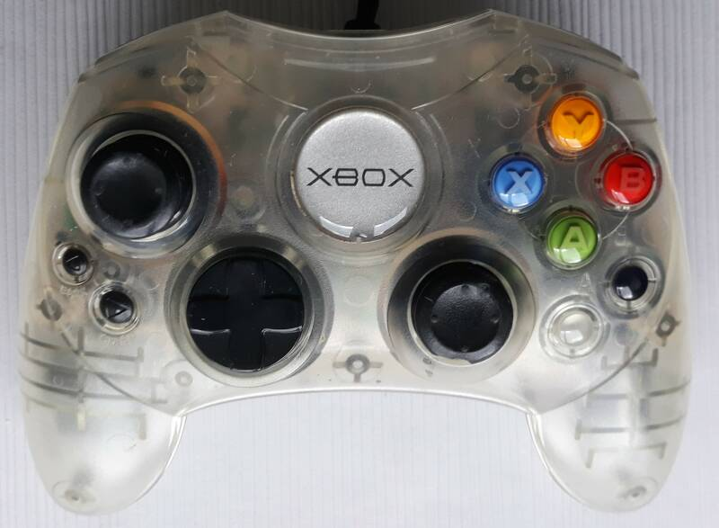 Xbox - Controller S Crystal clear (region free) unboxed
