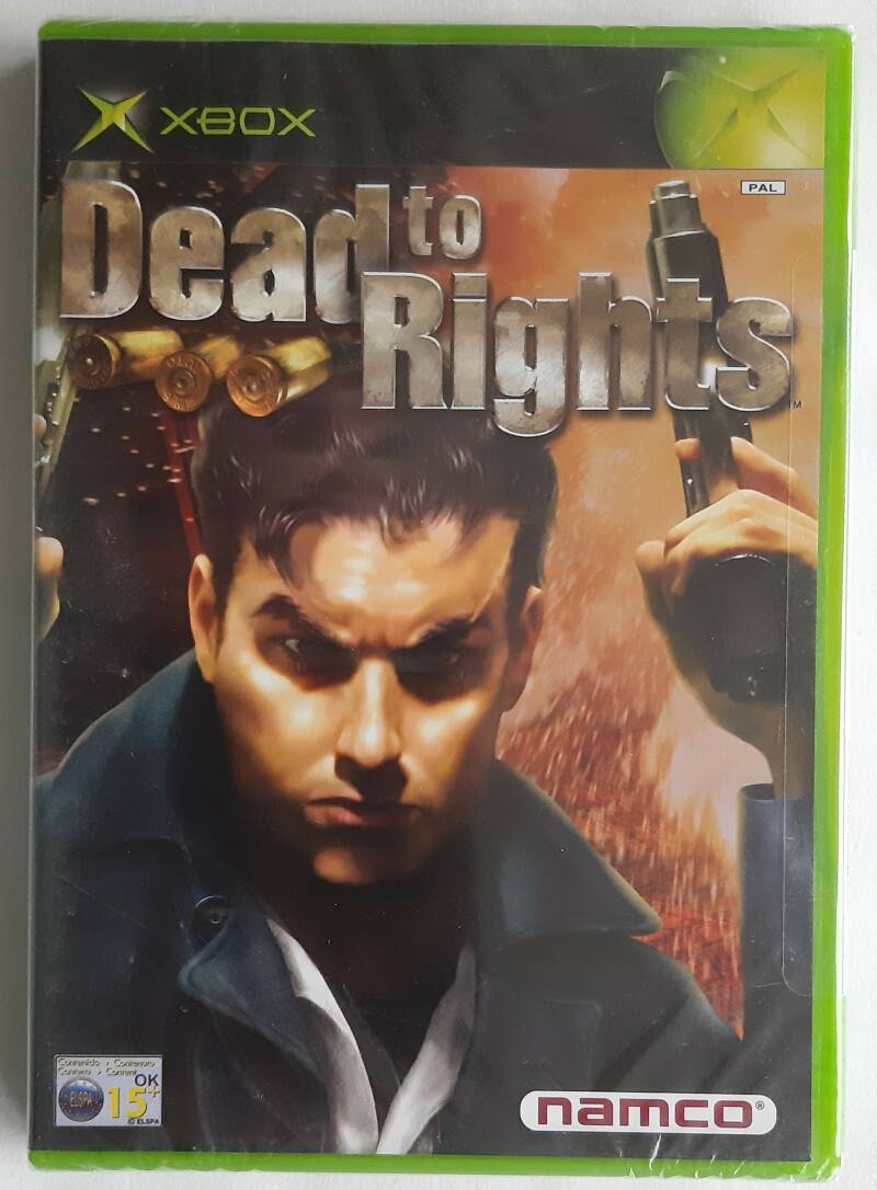 Xbox - Dead to Rights (PAL) factory sealed