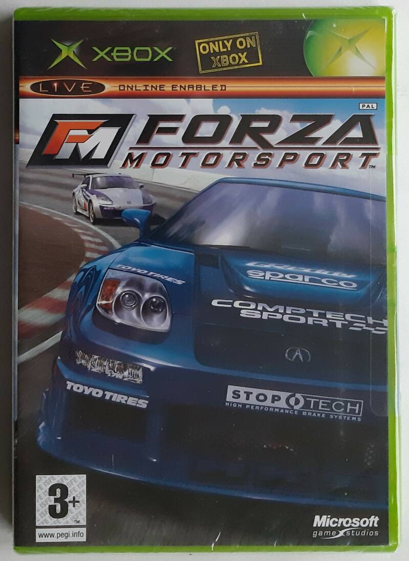 Xbox - Forza Motorsport (PAL) factory sealed