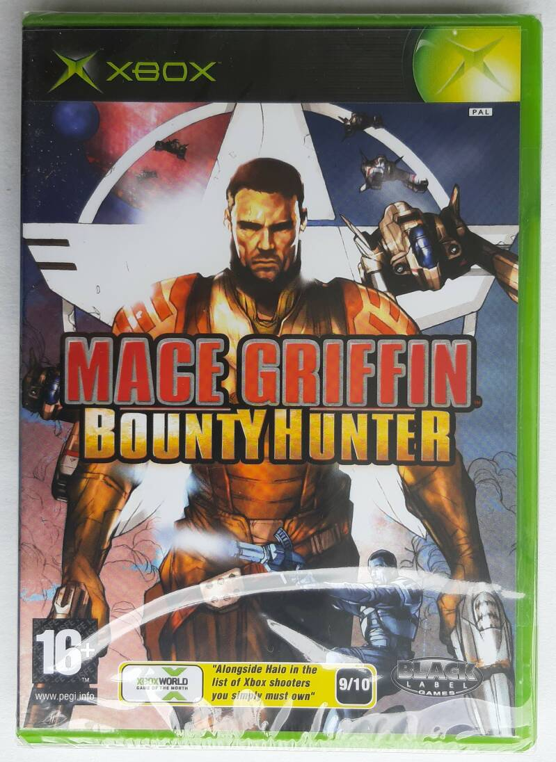 Xbox - Mace Griffin: Bounty Hunter (PAL) factory sealed