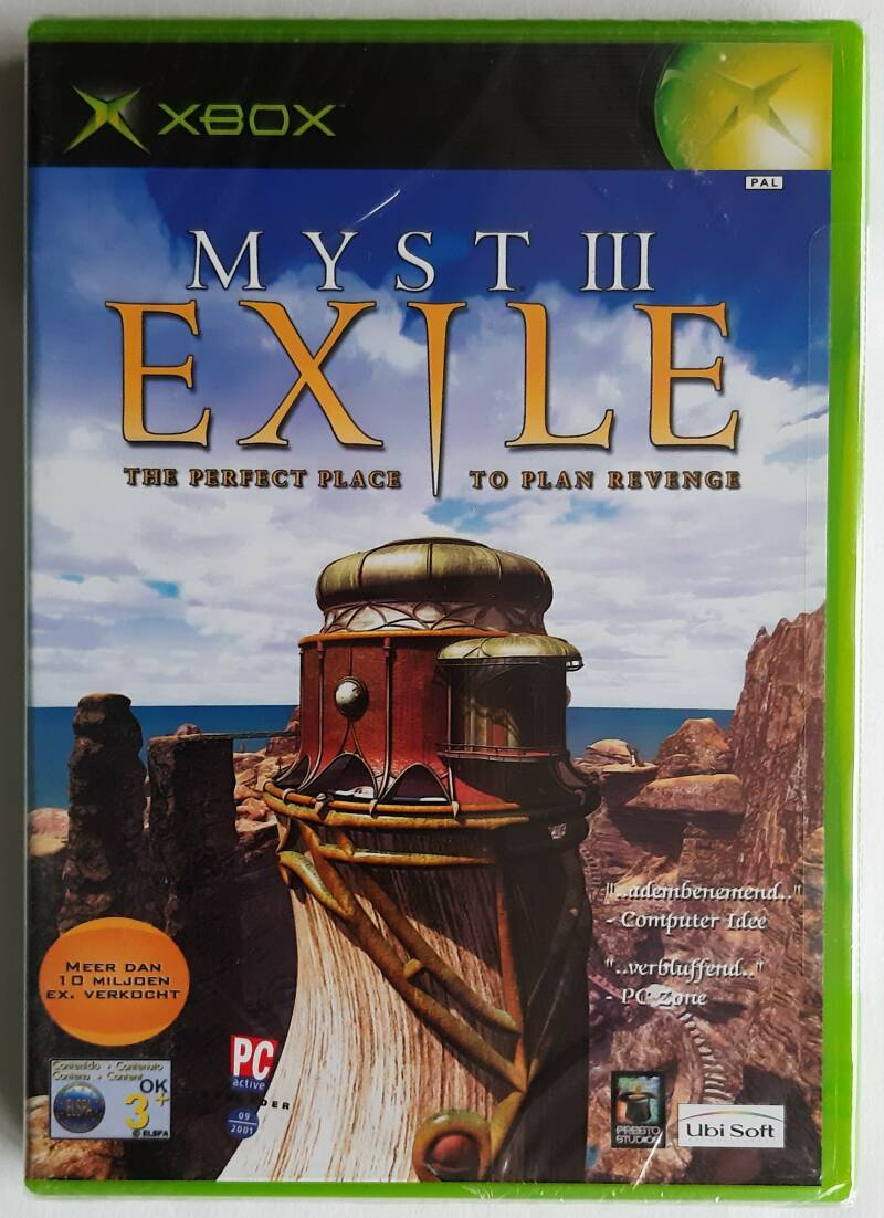Xbox - Myst III: Exile (PAL) factory sealed
