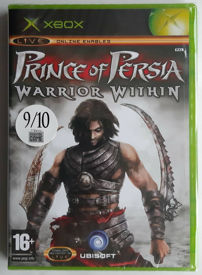 Xbox - Prince of Persia: Warrior Within (PAL) factory sealed