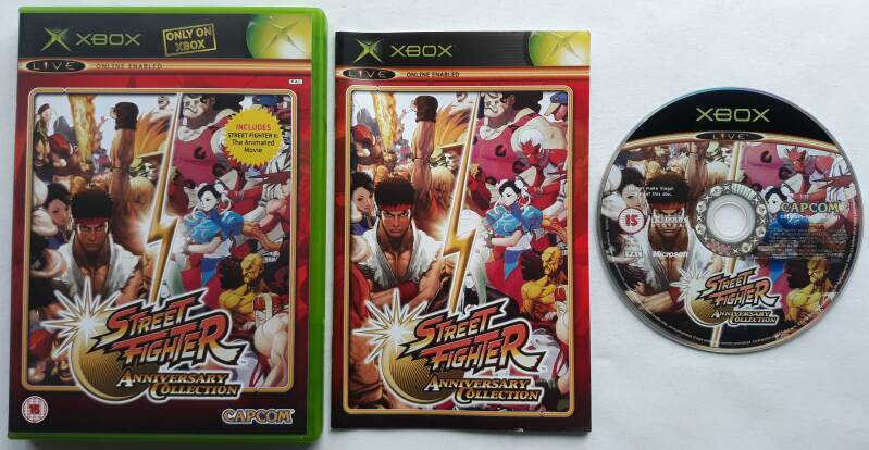Xbox - Street Fighter Anniversary Collection (PAL)