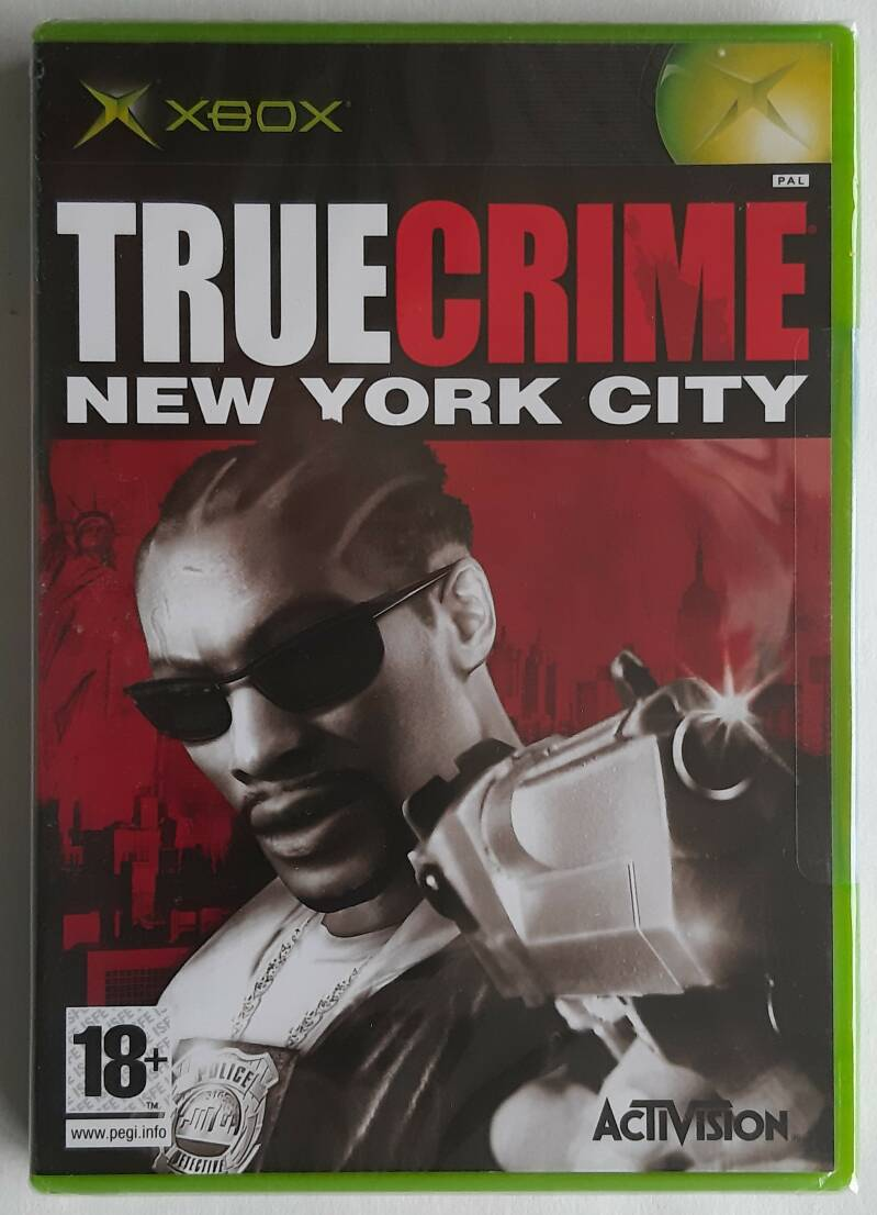 Xbox - True Crime: New York City (PAL) factory sealed