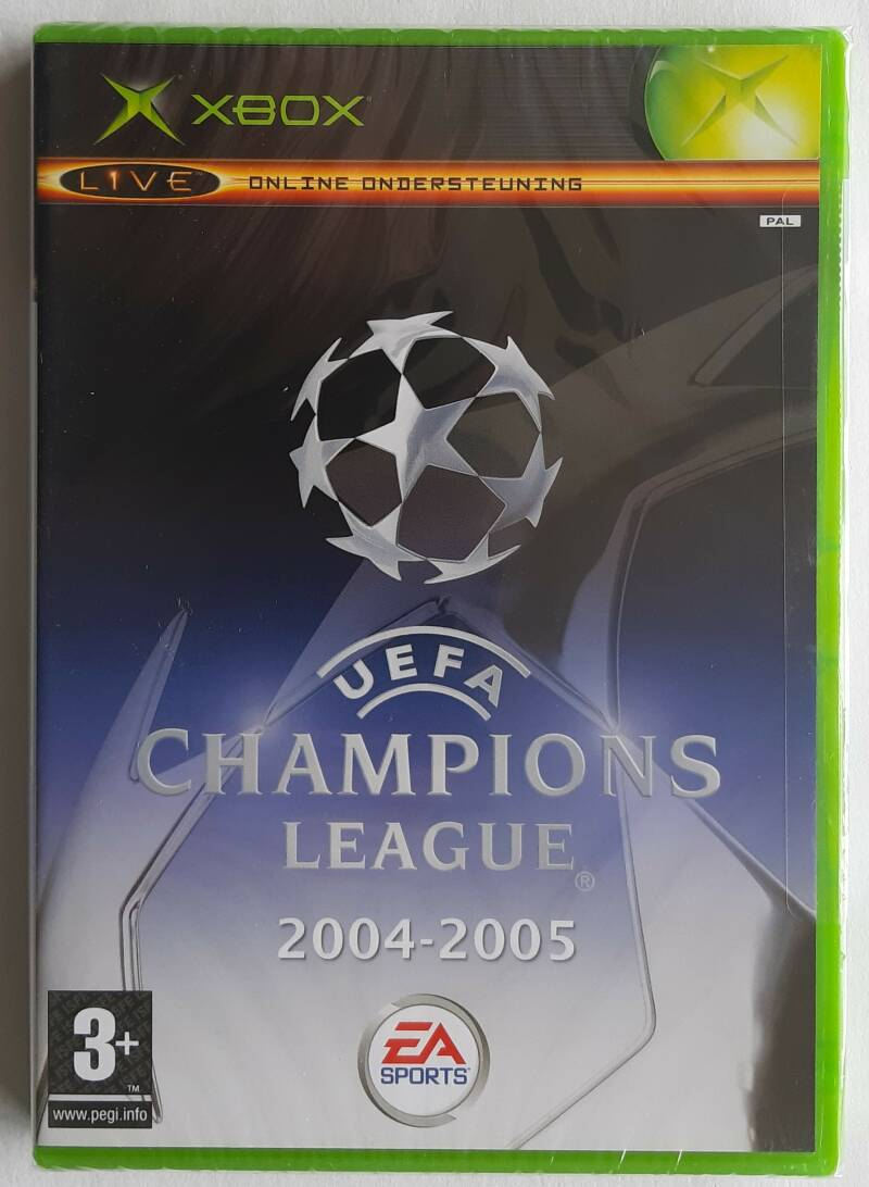 Xbox - UEFA Champions League 2004-2005 (PAL) factory sealed