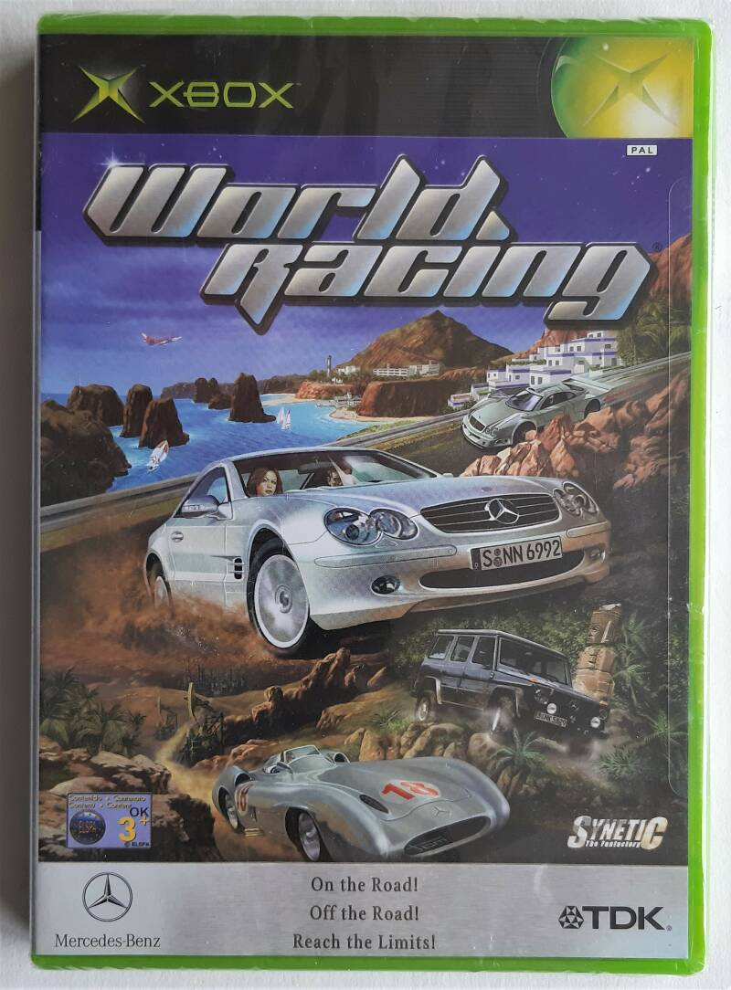 Xbox - World Racing (PAL) factory sealed
