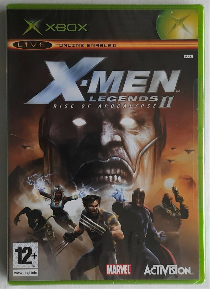 Xbox - X-Men Legends II: Rise of Apocalypse (PAL) factory sealed