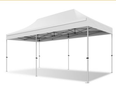 Easy-Up tent 4,5x6 wit