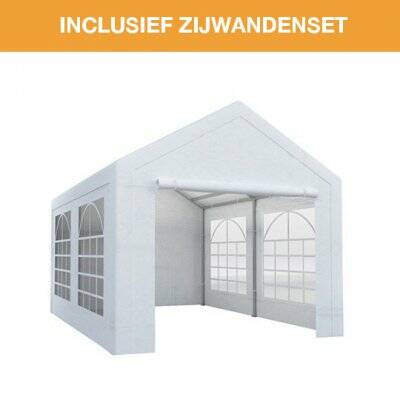Partytent traditioneel 4x4