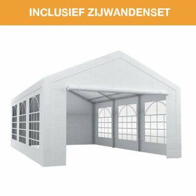 Partytent traditioneel 4x6