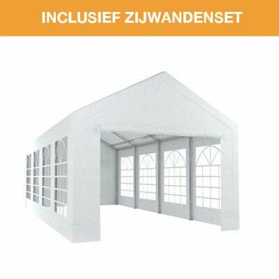 Partytent traditioneel 4x8