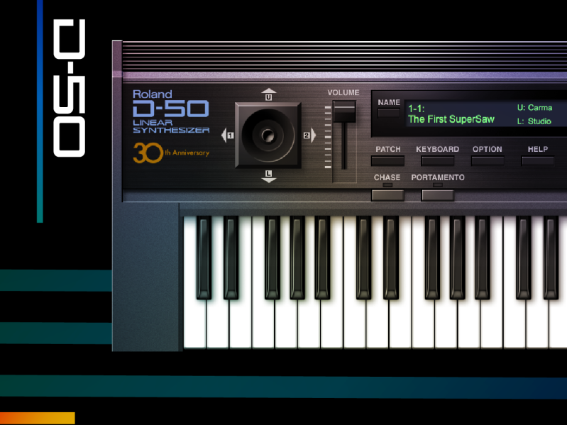 Roland D-50 Lineaire Software Synthesizer Plugin VST - 2021