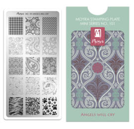Stampingplate Mini 101. Angels will cry