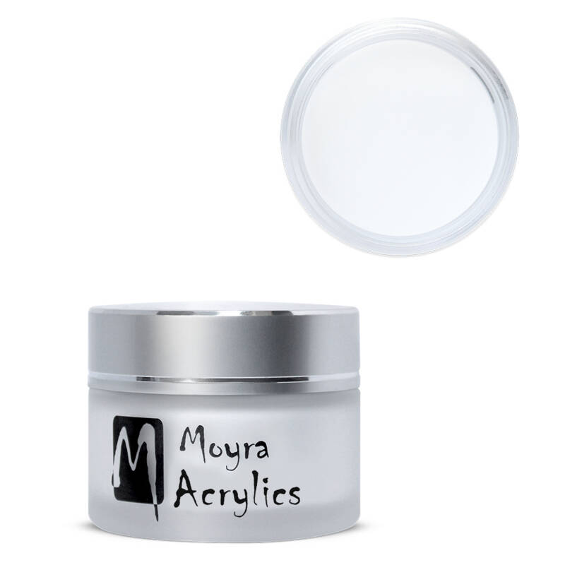 Moyra Acrylic Powder Moon White 12/28/140g