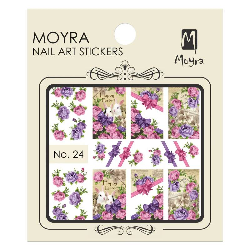 Moyra Nail Art Sticker Watertransfer No.24