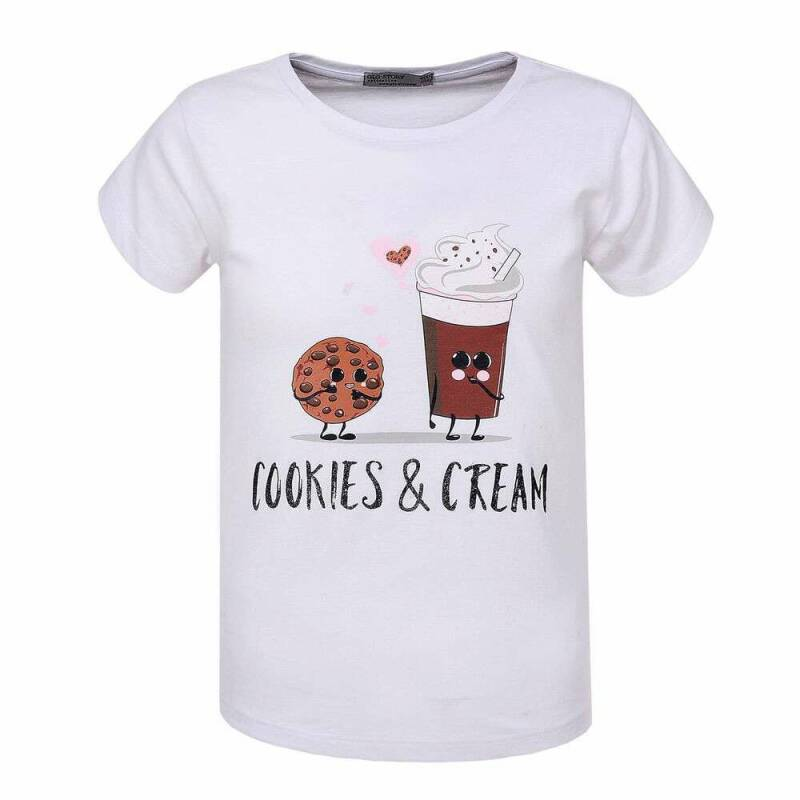 T - SHIRT Cookies/Wit