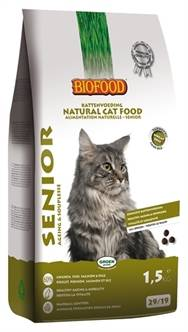 BIOFOOD CAT SENIOR AGEING & SOUPLESSE 1,5 KG OF 10KG