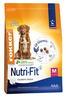 FOKKER NUTRI-FIT ADULT MEDIUM 2,5KG / 13KG